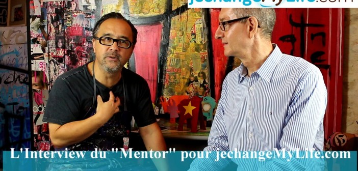 Interview de Vanluc Artiste-Peintre pour jechangemylife.com