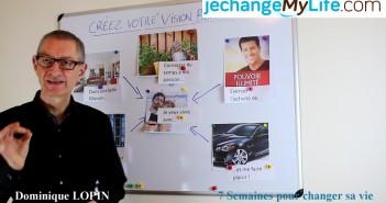 """Coaching vidéo """"Créer son Vision Board"""". jechangemylife.com"""