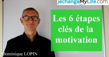 Les 6 étapes clés de la motivation. jechangemylife.com