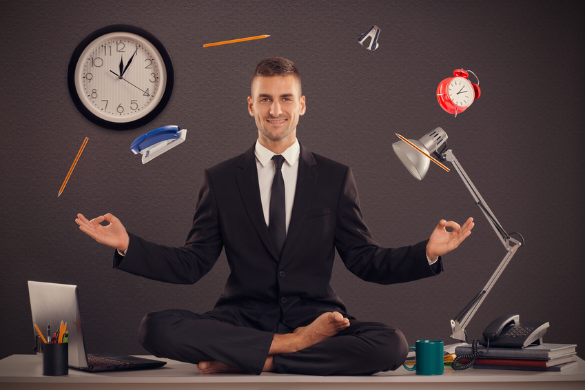 les symptômes du stress ont commencé à s'estomper. Méditations anti-stress. jechangemylife.com