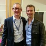 Dominique Lopin et Olivier Roland, blogueur et éditeur de Blogueur Pro