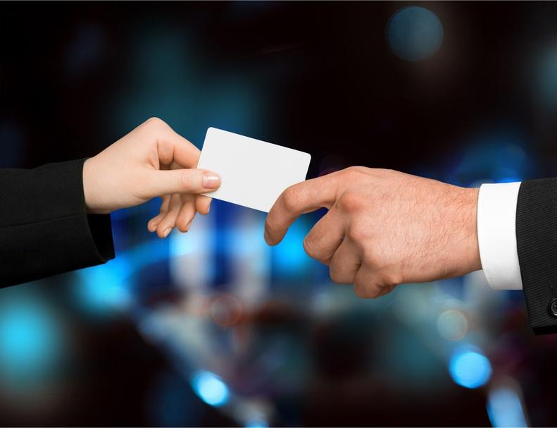 A chaque nouvelle rencontre offrez systématiquement votre carte de visite. jechangemylife.com