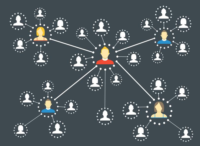 """Evaluez la valeur de votre réseau avec la """"Loi de Medcalfe"""". jechangemylife.com"""